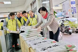 歲末送溫情 楊瓊瓔與會計師公會捐米獻愛心