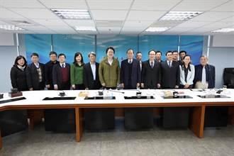 林右昌南下拜訪海委會 爭取設立海洋科研創新基地
