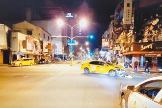 台南左轉計程車 撞死台積電工程師