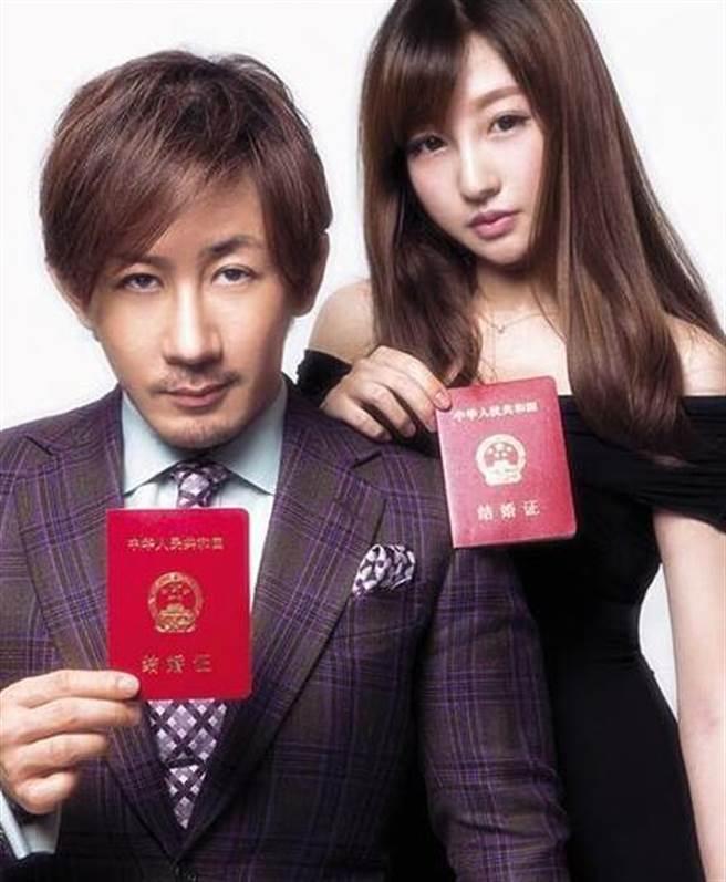 劉謙因為一次演出認識王希怡,相戀一年多就結婚領證,後來更被發現女方身家背景驚人,是「厲家菜」第三代傳人。(圖/ 摘自微博)