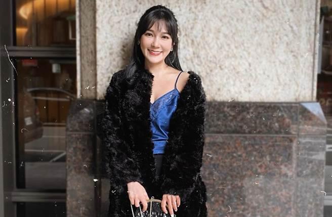 張若妤擁有甜美外型。(圖/翻攝自張若妤臉書)