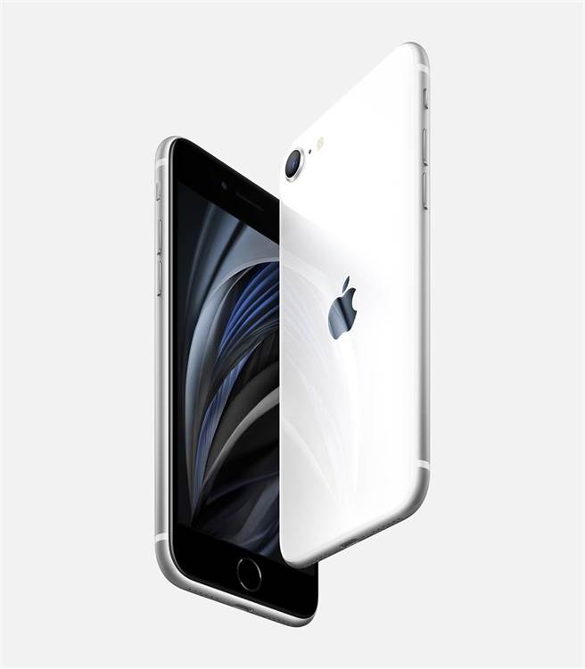 2020年4月蘋果發表新一代iPhone SE。(摘自蘋果官網)