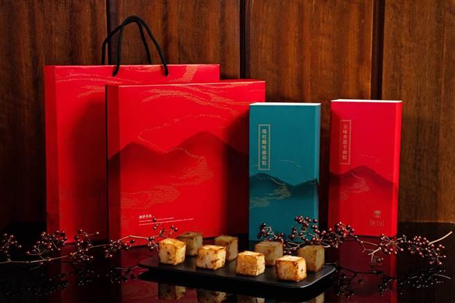 涵碧樓特別推出的「采玉禮盒」。(涵碧樓提供/廖志晃南投傳真)
