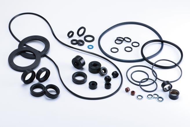 台灣優力膠業公司製造的優質橡膠產品。圖/業者提供
