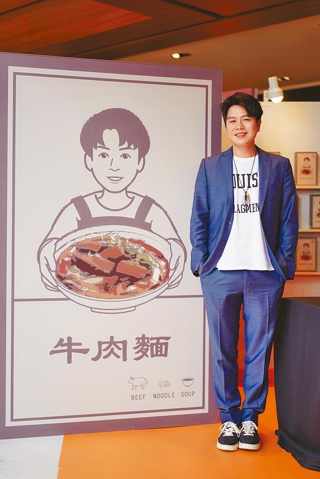 李易昨現身他創立品牌「李饗煮易」快閃概念店與粉絲互動。(李饗煮易提供)