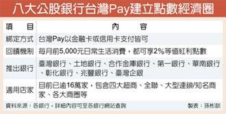 台灣Pay 建立點數經濟圈