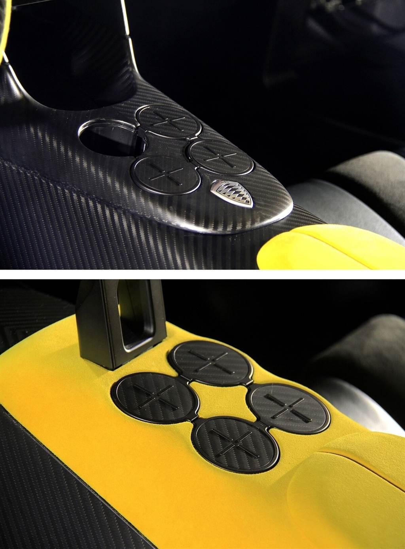 車內配有八個置杯架(冷熱各半)之外,還會附有無線手機充電座、WiFi、Apple Carplay,以及前後座獨立的娛樂系統…等等的舒適實用配備。