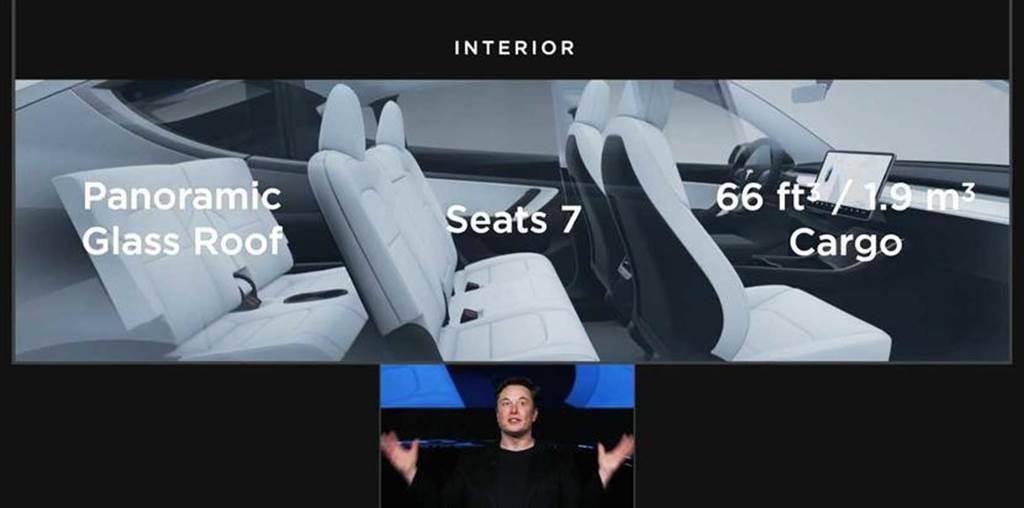 特斯拉官方介紹影片曝光,Model Y 全新第三排座椅設計特色詳解