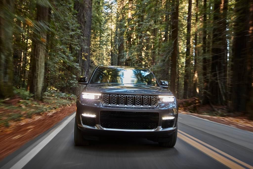 品牌首款全尺寸七人座豪華休旅 Jeep於北美發表Grand Cherokee L