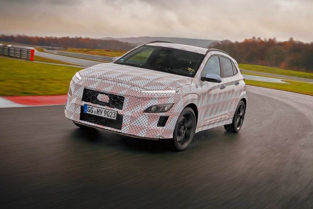 Hyundai預告即將推出高性能版的Kona N