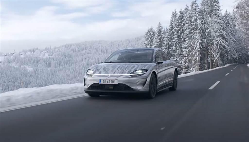 Sony 公布 Vision S 電動車雪地路測影片,但還是沒打算要量產