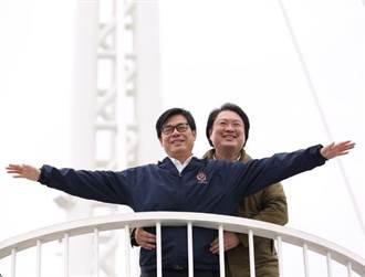 陳其邁、林右昌上演男男版《鐵達尼號》 網喊:有點不舒服