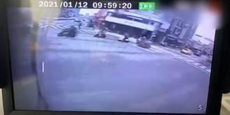 北市公車疑闖紅燈撞機車 22歲男騎士受傷送醫