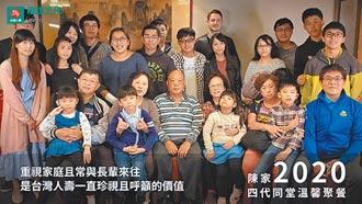 台壽邀全台祖孫健走 環台1.79圈