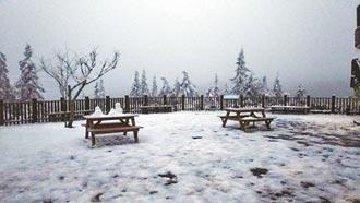 逾2000遊客衝太平山賞殘雪