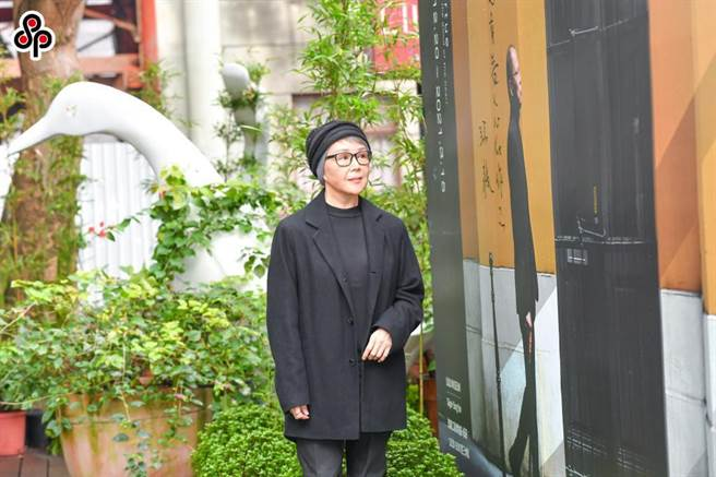 曾連續2年得到「金馬影后」的楊惠姍表示對於電影圈不會眷戀。(盧禕祺攝)