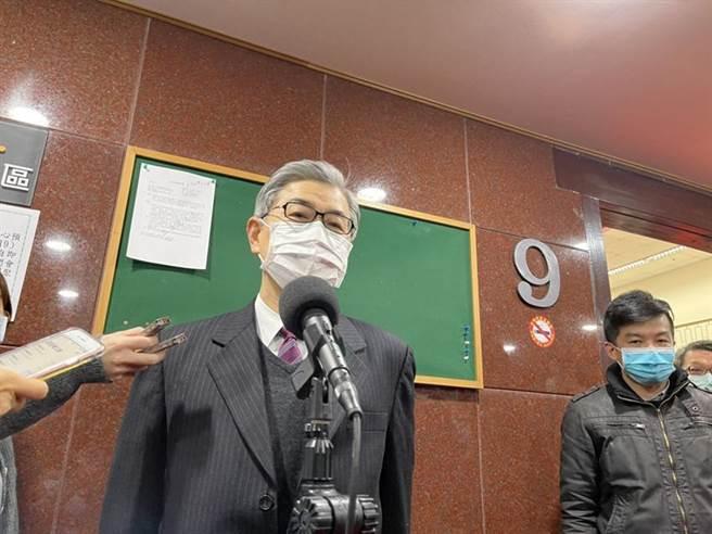 金管會主委黃天牧表示暫不考慮開放國際板投資上限。圖/彭禎伶