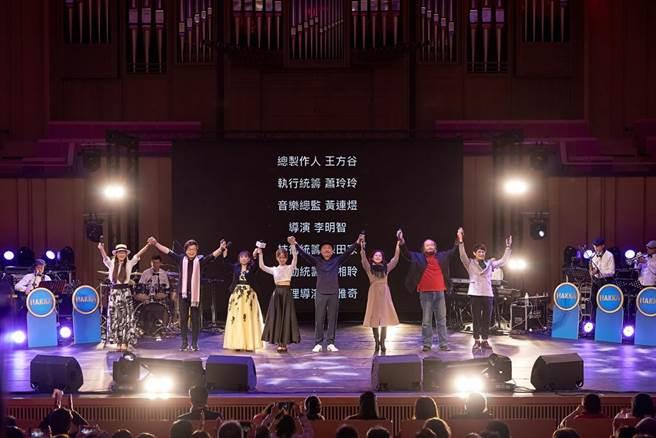 靚聲-客家經典再現 金曲經典歌手同台獻唱(照片來源:典選音樂)