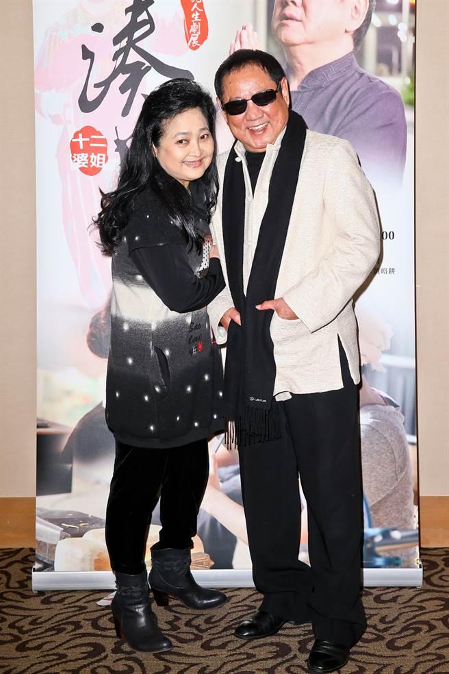 沛小嵐至今仍很思念丈夫馬如龍。(圖/本報系資料照片)