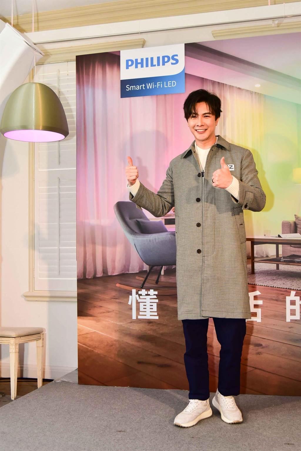 謝佳見去年取得台灣永久居留證,有意在台置產。(Philips提供)