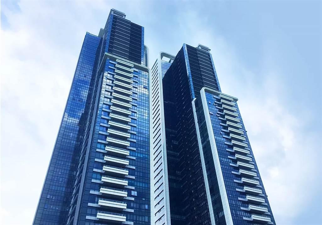 大直高樓豪宅「西華富邦」又有新交易,5樓戶以2億1974萬成交,單價145萬。(全球居不動產情報室提供)