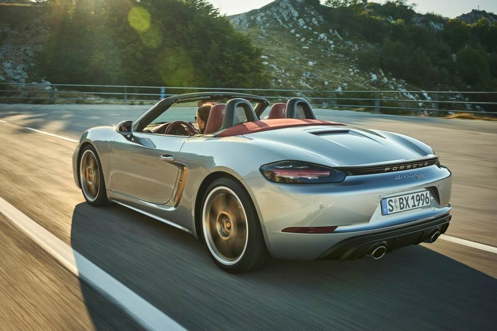 Porsche推出Boxster 25 Years週年紀念版 全球限量1250輛