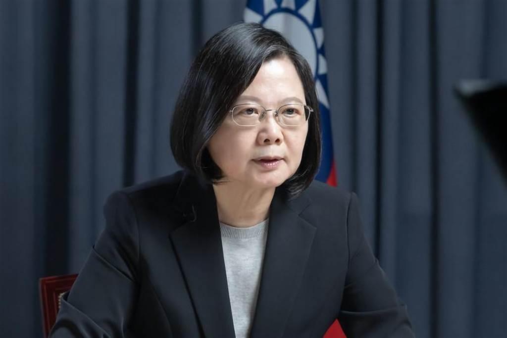 針對楊志良的開除說,蔡總統今罕見說重話回擊。(總統府資料照片)
