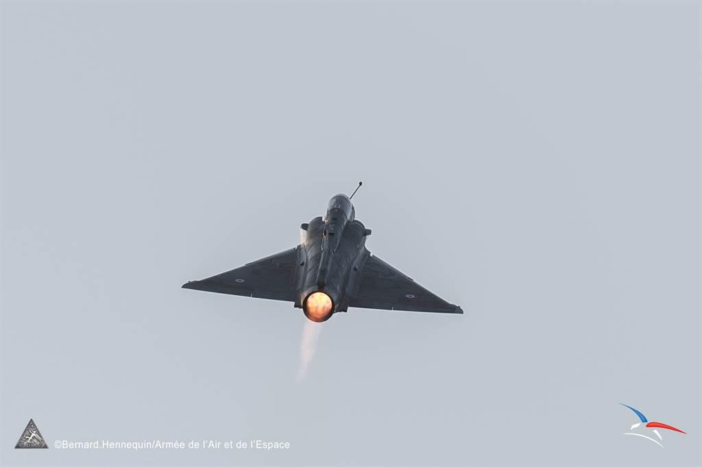 法國空軍幻象2000戰機。(圖/達梭航太)