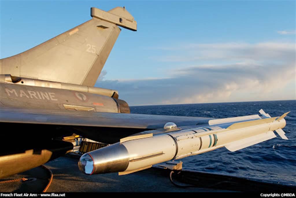雲母飛彈追熱型,具有中程射程與短程性能。(圖/MBDA)