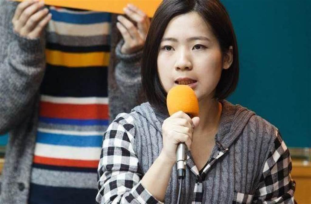 國民黨台北市議員徐巧芯。(圖/本報資料照)