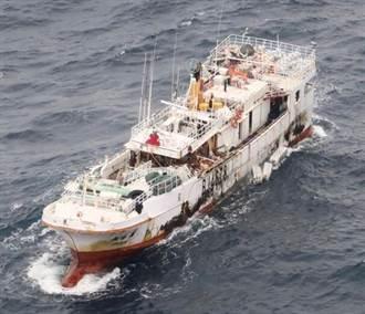 拖繩斷裂 永裕興18號救援行動困難 船員依舊生死未卜
