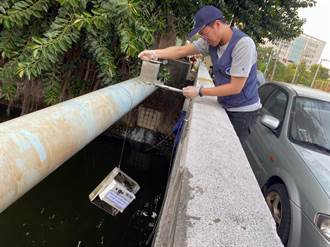 南市在6處河川裝水質感測器 1食品業者偷排汙水重罰43萬