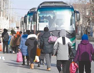 陸中高風險地區清零 石家莊恢復省市長途巴士
