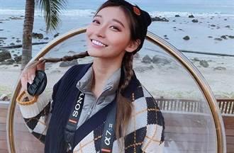 祈錦鈅泡溫泉解放傲人雙峰 被問封奶嘆:對自己反感