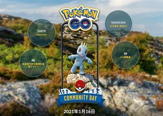 《Pokémon GO》1月社群日主角是腕力 快看活動詳情