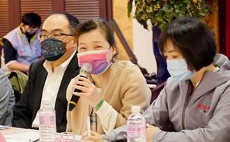 與台中中小企業座談 王美花提出產業建言