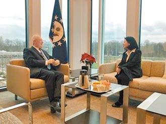 庫伯及美駐荷大使 會晤我代表