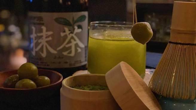抹茶與梅子結合的調酒。將日本茶道與調酒文化結合,調出清爽的口感,淡淡茶香透著梅子的酸甜,你一定要試試看!(BEEN蜂報提供)