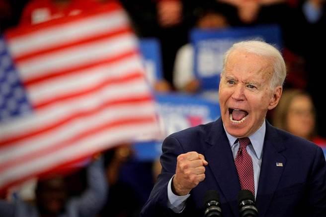 拜登1月20日就任美國總統。(達志影像)