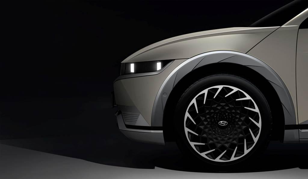 二月發表確認!Hyundai釋出Ioniq 5官方預告宣傳圖