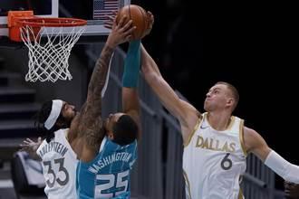 NBA》歡迎波神歸隊 東契奇準大三元射落黃蜂