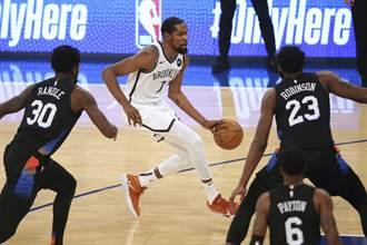 NBA》欢迎哈登?杜兰特率领篮网赢下纽约内战