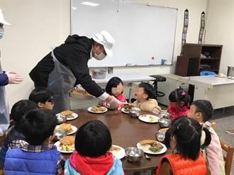 兒少安置機構拒萊豬 中市社會局長彭懷真訪視了解供餐狀況