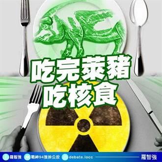 萊豬爭議未平核食接力? 羅智強:公投若沒過大家等著吃核食