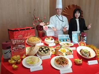 迎接農曆新年 金門金湖飯店5星美食上菜