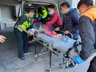 23歲女駕駛沒注意前方 輾斃1歲女童吐血身亡