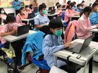 美濃南隆國中客華雙語課程 用數位化教學開新頁