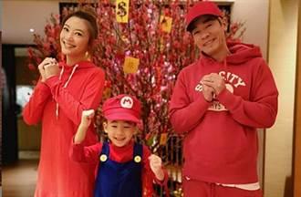 陳小春7歲萌兒Jasper暴風抽高 跳嘻哈舞網驚:太像爸爸了