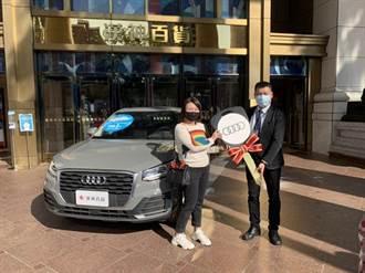 漢神百貨周年慶157萬汽車大獎 14日舉行贈車儀式