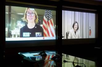 與克拉芙特視訊 總統:有表達台灣能參與聯合國及加入國際組織